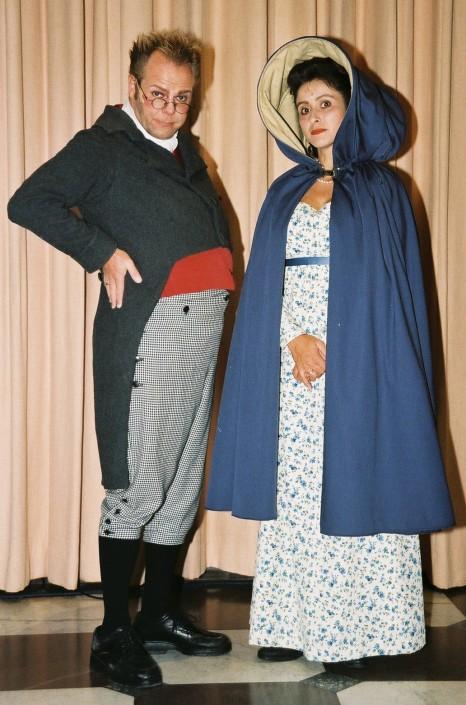 historische-kostuums spel Schande van Sanne