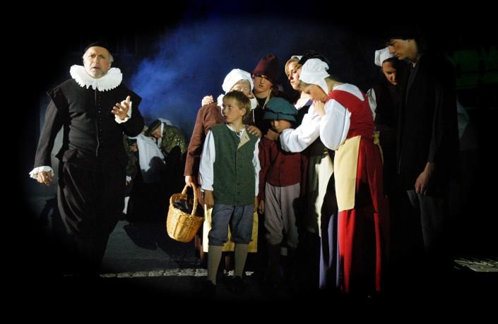 historische-kostuums spel Baselius