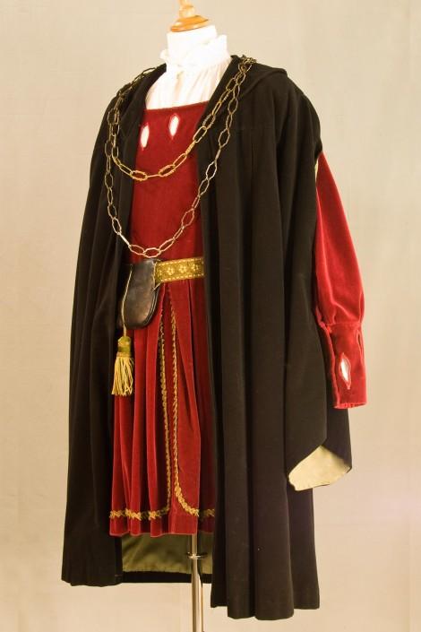 historische-kostuums spel Huiveren in het Hof
